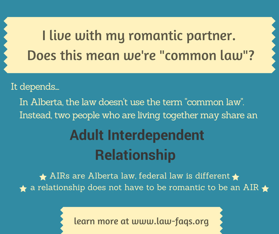 Adult interdependent alberta benefit