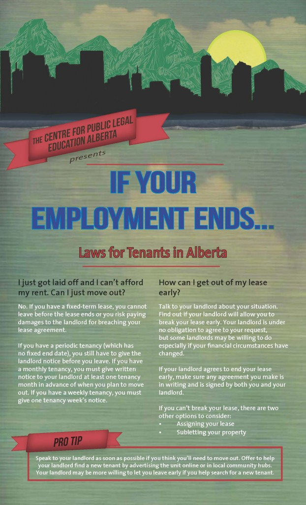 If your employment ends tip sheet