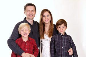 Family two children