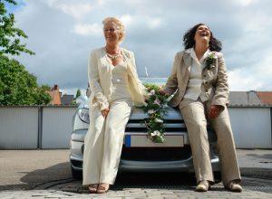 lesbian marriage (dreamstime_1094834