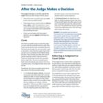 After Judges Decision