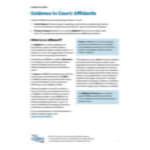 Evidence in Court Affidavits