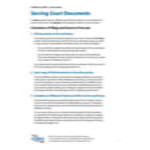 Serving Court Documents