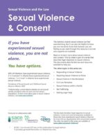 Sexual Violence and Consent